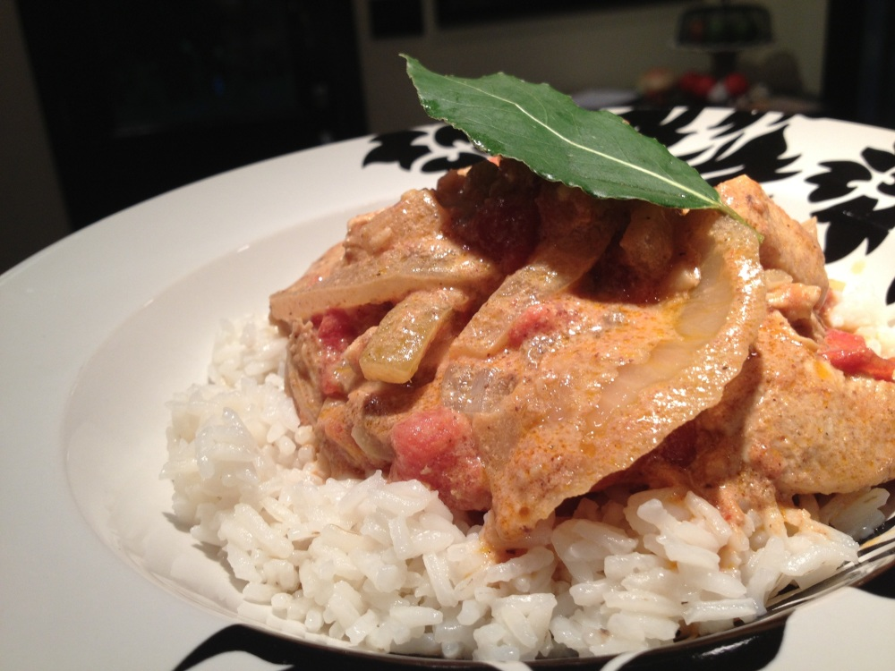 Balti Butter Chicken...a Sizzle Favorite (1/4)